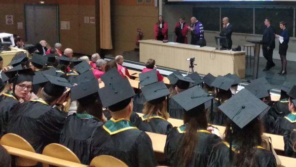 Discours du président de l'université de Montpellier M. Augé